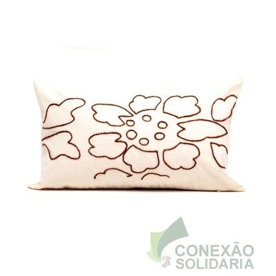 capa almofada bordad